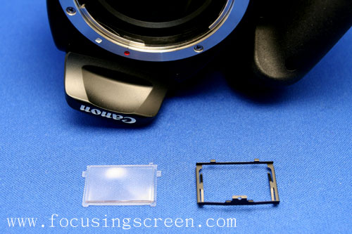 CANON 400D (KISS X)更換對焦屏的方法 - 現實是人性 - 我的博客