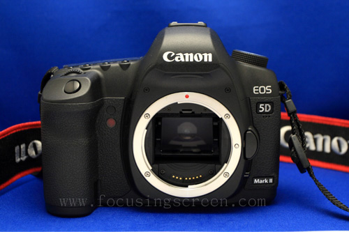 CANON EOS 5D Mark II 6D Focusing Screen Installation Instruction