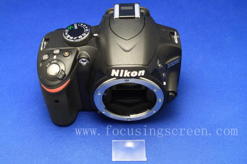 Nikon D3200 / D5200 / D5300 / D5500 / D5600 Focusing Screen