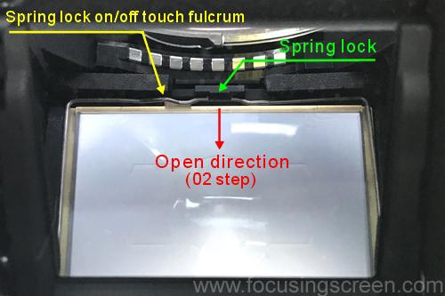 NIKON D850 D810 D800 D750 D600 D610 Df Focusing Screen Installation